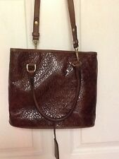 Leather Company by Liz Claiborne ladies handbag brown   H20