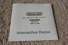 Nintendo Wii U Kiosk Interactive Demo Disc March 16 TESTED WORKING