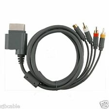S Video Composite AV RCA Cable Cord for For Microsoft Xbox 360 TV Game Us seller