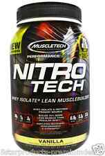 MUSCLETECH NITROTECH PERFORMANCE SERIES PROTEIN WHEY 2 LBS- VANILLA-NITRO TECH
