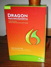 New Nuance Dragon NaturallySpeaking 12 Home for PC + Headset Microphone