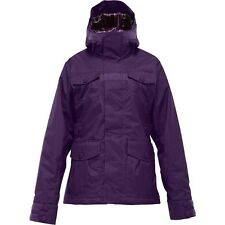 BURTON Women's DELIRIUM Snow Jacket - RUM RAISIN - Medium - NWT