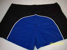 Swim Briefs Under Gear by International Male Royal/Black with Lining Sz. 32