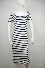 FCUK FRENCH CONNECTION NWT BLUE & WHITE SARDINA STRIPE MATERINITY DRESS SIZE: S