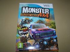 Monster Stunt Racer 4 x 4 Wii **New and Sealed**.