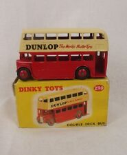 Boxed Dinky Toys No. 290 Double Deck Bus 'Dunlop' 1959-1961 #2