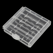 New Hard Plastic Case Cover Holder for AA / AAA Battery Storage Box NR