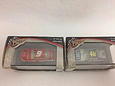 Nascar 1/87 Diecast 48 Lowes Johnson 9 Dodge Kahne Collectible Display Lot