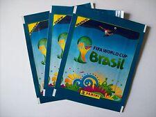 LIDL Panini Fifa World Cup Brasil 3 ungeöffnete Packungen, 6 Sticker Aufkleber