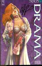 DRAMA Dawn cover signed by Joseph Linsner (1994) Sirius Comics 1st FINE
