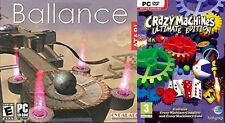 ballance & crazy machines ultimate edition  new&sealed