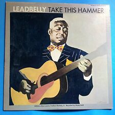 Leadbelly-Take This Hammer-1968 RE Folkways Stereo-VG__/M-  UNPLAYED BLUES