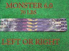 70 lb  Mathews Monster 6.0 LIMBS  55-70LBS. *SHIP WORLD WIDE**