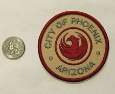 City Of Phoenix Arizona Embroidered Patch