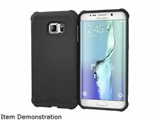 rooCASE Exec Tough Granite Black Case for Samsung Galaxy S6 Edge+ RC-SAM-S6EP-ET