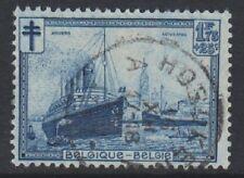 Belgium - 1929, 1f75 + 25c Blue Anti TB Fund - G/U - SG 556