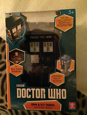 Doctor who tardis  model, new spin and fly version with white windows and sounds