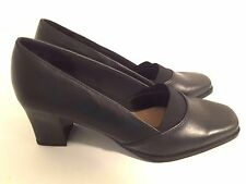 Womens Airstep  Treasure Black Pumps Shoes Size 8
