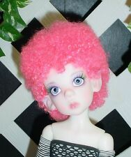 "Doll Wig, Monique Gold ""Tyra"" Sz 8/9 in Pink (Unisex Wig)"