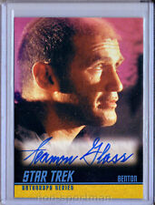 STAR TREK REMASTERED A245 SEAMON GLASS AUTOGRAPH