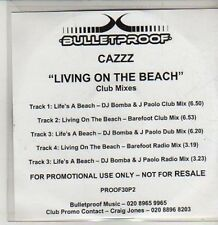 (CS500) Cazzz, Living On The Beach - DJ CD