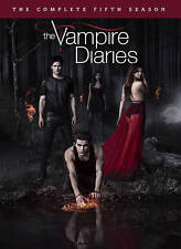 The Vampire Diaries: The Complete Fifth Season (DVD, 2014, 5-Disc Set) NEW