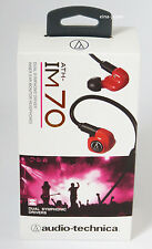 audio technica ATH-IM70 Dual symphonic drivers In-Ear Headphones With Tracking