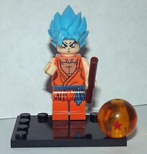 Dragon Ball Z  Minifigure GOKU Super Saiyan Blue movie tv show