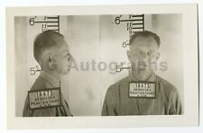 Early 20th Century Mug Shots - Donald Sypherd/Escaped Convict - 1953