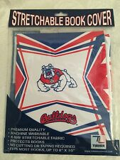 """Fresno State Bulldogs Stretch Book Cover Fits Most Books Up To 8"""" By 10"""""""