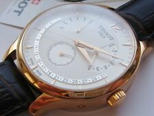 NEW TISSOT T0636373603700 Tradition Perpetual Mens Swiss Watch Rose Gold