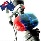 Bicycle Bike Loud 8 Sounds Electronic Horn Bell Siren LED Warning Light OBHOR01