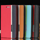 BookStyle Wallet Leather Flip Case Cover Stand Slot For iPhone 4 4S/5 5S/5 SE/5C