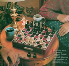 CHECK MATE CHESS BOARD GAME PLASTIC CANVAS PATTERN INSTRUCTIONS ONLY FROM A BOOK
