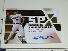 JR Towles: 2008 SPX Rookie Autograph - Houston Astros - St. Louis Cardinals NM
