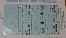 Microscale Decal 1:72 Scale #72-873 / F-16C Falcons, 512 TFS Cdr., 132 FW Cdr.,