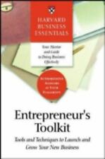 Entrepreneur's Toolkit: Tools and Techniques to Launch and Grow Your New Busines