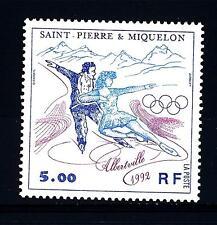 ST. PIERRE E MIQUELON - 1992 - Giochi olimpici di inverno ad Albertville