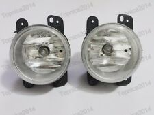 1Pair Clear Fog Lights Driving Bumper Lamps for Dodge Journey 2009 2010