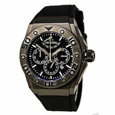 TW Steel CE5000 Gent's CEO Diver Black Dial Rubber Strap Watch