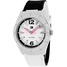 New Tommy Hilfiger Reversible Band Black/White Women Watch 39mm 1781191 $105