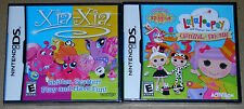 Nintendo DS Lot - Xia-Xia (New) Lalaloopsy Carnival of Friends (New)