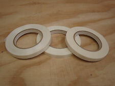 """STRAPPING TAPE 3 rolls 1/2"""" x 60 yards for packing moving filament reinforced"""
