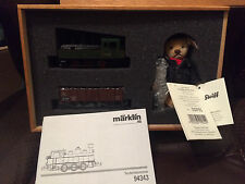Steiff-Marklin Limited Edition Train Set, Wooden Box with COA. GREAT DEAL