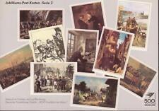 """10 tolle Postkarten """"500 Jahre Post"""", Serie 2, neu"""