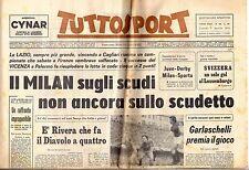 rivista TUTTOSPORT - 09/04/1973 N. 98 MILAN - RIVERA