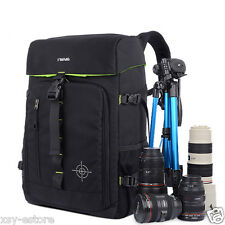 Quality Black Photography Backpack for Camera DSLR SLR Storing & Travel Bag Case