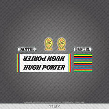 01187 Hugh Porter Bicycle Stickers - Decals - Transfers