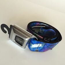 Buckle Down Belt Licensed Laser Beam Space Kitty Ford Silver Buckle.  NWT