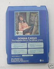 Vintage 8 Track Donna Fargo Happiest Girl in the Whole USA ABC Dot 8310-26000H